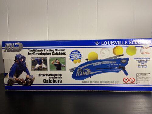Louisville Slugger Triple Flame Hand Held Pitching Machine B