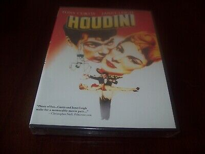 Houdini (DVD) w/Tony Curtis...oop..(2008) ..............NEW & FACTORY SEALED!