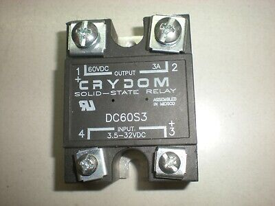 Crydom Dc60s3 Solid State Relay - 3 Amp - Tests Ok