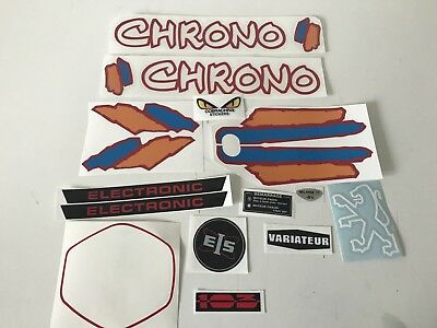 kit autocollant stickers peugeot 103 chrono ph2
