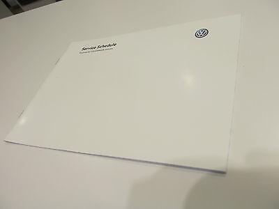 BRAND NEW Genuine Volkswagen Duplicate Service Book
