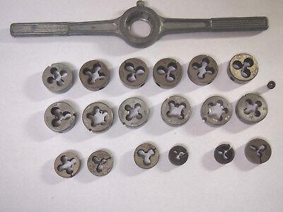 Butterfield Craftsman Assorted Split Die Machinist Tap Lot
