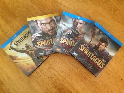 Spartacus Complete Series Blu Ray Hamilton Hill Cockburn Area Preview