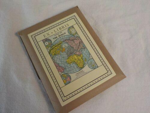 Ex Libris Bookplates The World 18 In All