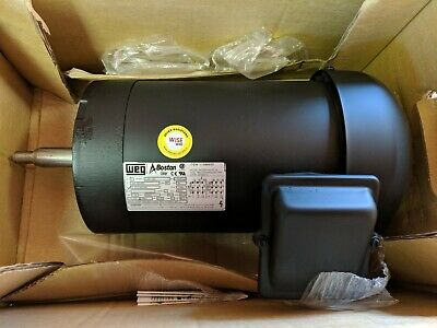 Weg Electric Motor Model Gm2000-kutf-14 1740 Rpm 2 Hp 3ph 208-230460v 60hz