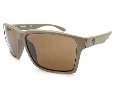 NEW Dragon Method Matte Coffee Brown Mens Tr90 Square Sunglasses (Method Sunglasses)