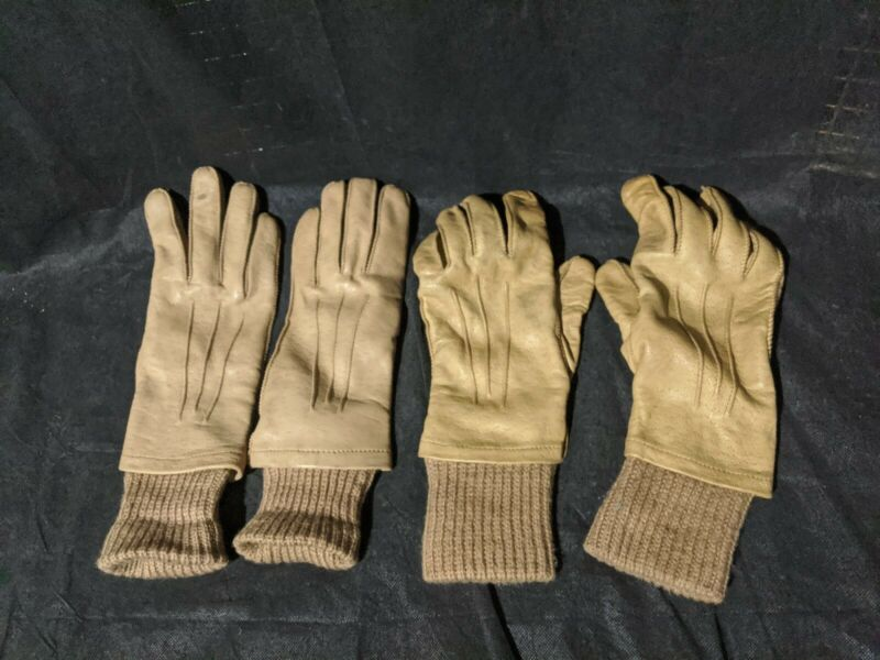 Vintage Leather Gloves women