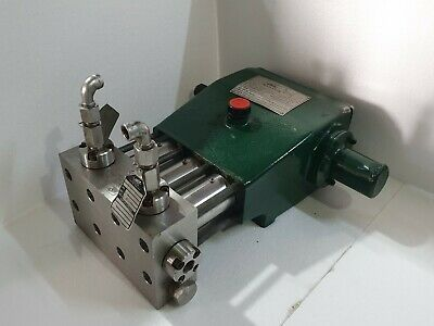 Aqua-dyne Ek 25 Ff Hydrostatic Testing Pump 22500 Psi Water Jet Triplex Pump