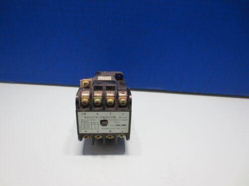 TOGAMI MAGNETIC CONTACTOR JEM A-3-2 CLK-20U 20AMP