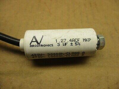 2pcs EPCOS B32669 5UF 250V 450VDC axial capacitor