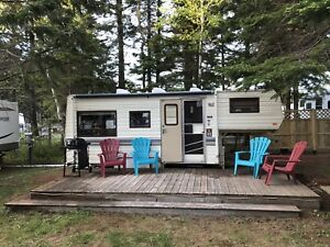 Trailer for rent sunset campground