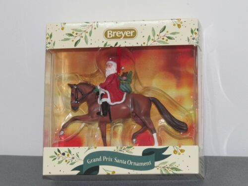 Breyer Horses 2020 Holiday Collection Dressage Santa Ornament #700653 Grand Prix