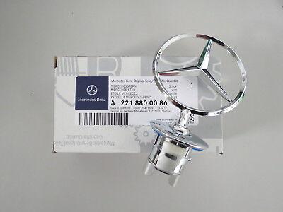 Original Mercedes-Benz Stern W204 W212 W213 W221 Motorhaube A2218800086 NEU (W204 Mercedes)