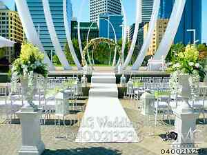 Perth Outdoor Wedding Ceremony setup Perth Perth City Area Preview