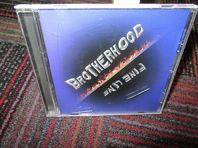 BROTHERHOOD: FINE LINE MUSIC CD, 2003 BMR STUDIO, 11 TRACKS, GUC Fine Line Music