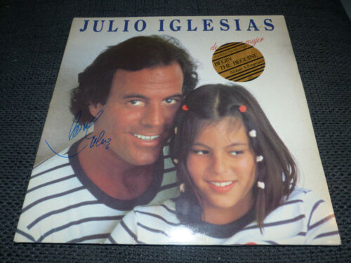 Julio Iglesias Weihnachtslieder.Autographs Authentic Autograph Dealers Racc Trusted Sellers