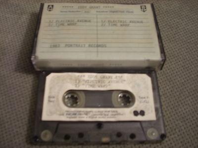 VERY RARE PROMO Eddy Grant CASSETTE TAPE Electric Avenue Time Warp 1983 Portrait