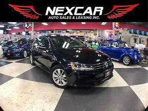 2015 Volkswagen Jetta 2.0L TRENDLINE+ 5 SPEED SUNROOF BACKUP CAM