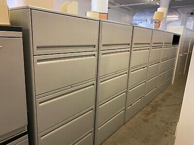 5 Drawer Lateral Size File Cabinet By Haworth Office Furniture Wlockkey