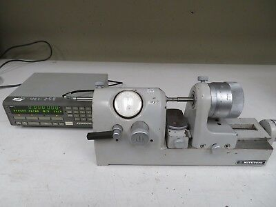 Mitutoyo Bench Comparator Gage W Digital Readout Mdl 162-102 Nc48