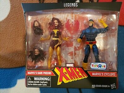 DARK PHOENIX CYCLOPS MARVEL LEGENDS 2 PACK NIB X-MEN TOYS R US Near Mint