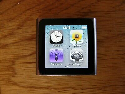 Apple iPod nano 6th Generation Space Graphite (16 GB)