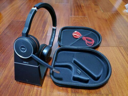 Jabra Evolve 75 Wireless Headset+Link 370 + hard case + Charging Stand
