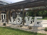 LOVE Marquee Letters for Rent - Wedding Decor