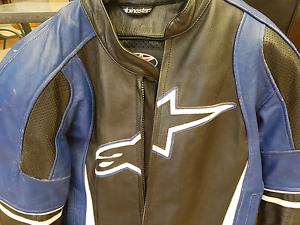Alpine stars leather jacket Wangara Wanneroo Area Preview