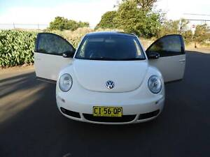 MY10 Vw beetle Anniversary edition white with black roof auto must see Haberfield Ashfield Area Preview