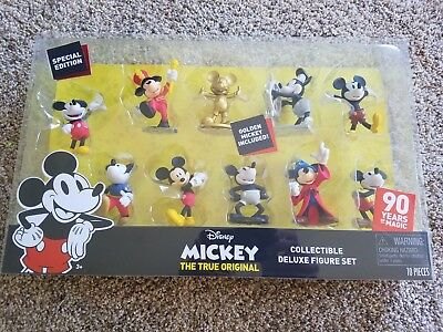 Mickey The True Original Mickey Collectible Deluxe Figure Set; NEW! Ship Daily!
