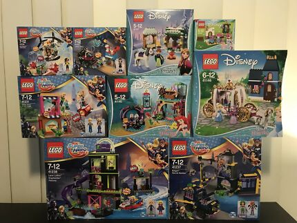 Brand new girls and juniors Lego sets for sale from $7