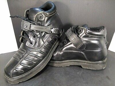 Icon Field Armor Super Duty Motorcycle Boots Mens Size 8.5  8 1/2 - Black - Icon Super Duty 2 Boots