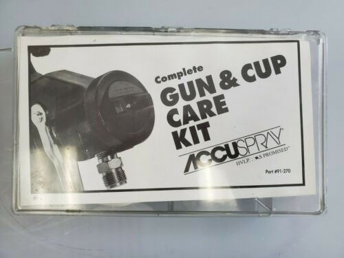 Accuspray Complete Gun & Cup Care Kit 91-270