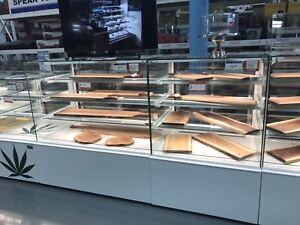Cheese deli pastry cake meat case