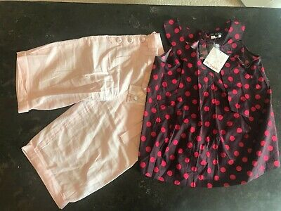 NWT Lili Gaufrette, girl's outfit set, 12