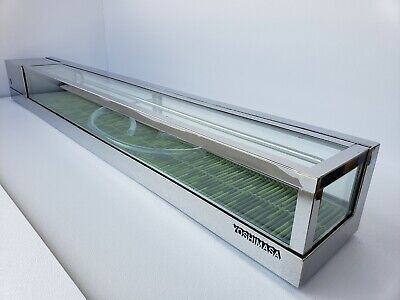 Yoshimasa Sushi Display Casegarasu-6r Or 6l 72 Condensation Free Glass