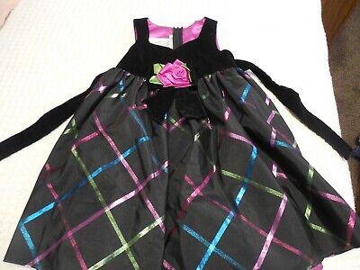 Lot of 5 Girls Dresses Size 5 Dressy Plain Casual  Bonnie Jean Cherokee Basic Ed