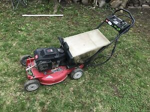 Lawnmower for parts or repair.
