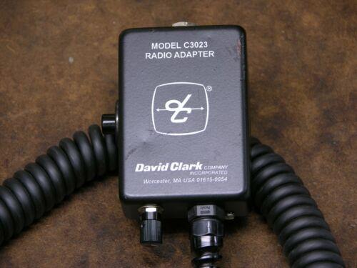 David Clark C3023 Belt Station for Series H3000 Headsets.