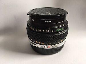 Objectif Zuiko 50mm 1.8 pour monture Olympus M (à film 35mm)
