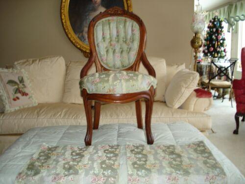 "2 Sample Scalamandre fabrics - 17.5 x 17.5"" each Marquise Pale Jade"