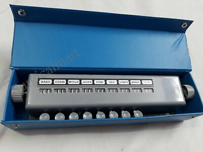 Blood Cell Counter 8 Keys Lab Equipment Best Deal