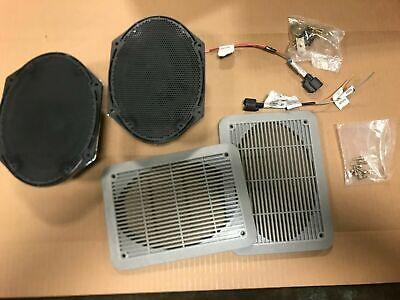 1 Set Ford OEM 6 x 8 Speakers Assembly 7U5T-18808-BA Wire Harness F-150 E SERIES
