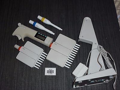 Labsystems Biocontrol Finnpipette 12 8 Channel Electronic Pipettes 211690-j2