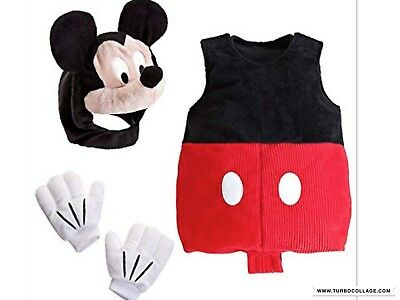 NEW  MICKEY MOUSE Club DISNEY STORE  PLUSH  COSTUME  Size12-18 mths - Mickey Mouse Club Costumes