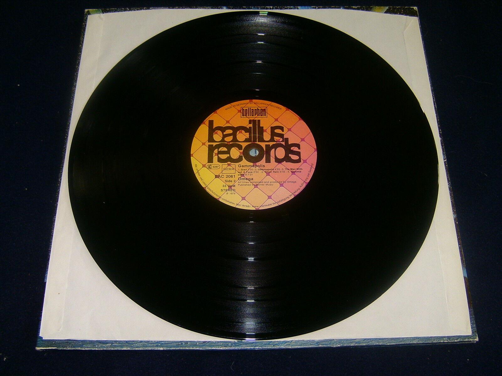 omega gammapolis foc 1978 bacillus records bac 2061 vinyl lp eur 19 00 picclick de. Black Bedroom Furniture Sets. Home Design Ideas