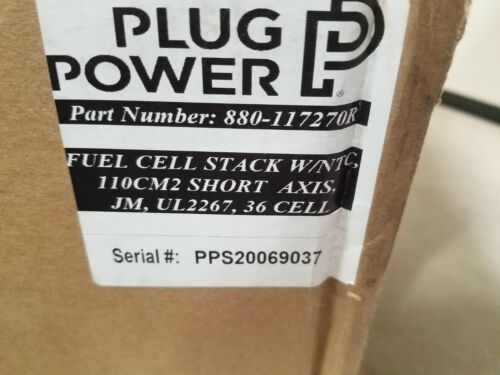 Plug Power Hydrogen Fuel Cell 36 Cell Stack w/ NTC 110CM2 Short Axis 880-117270r