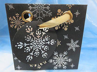 Kleine Geschenktasche - Weihnachten * Kristalle * 448-354 ()