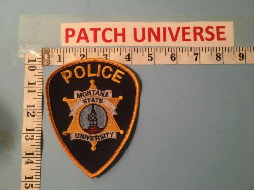 MONTANA STATE UNIVERSITY POLICE  SHOULDER PATCH B053